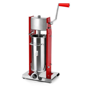 Trespade Model 5 Rosso Professional Vertical Sausage Stuffer